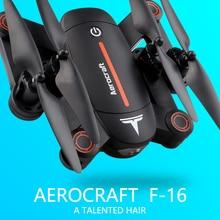 F16 Flytec zangão de posicionamento óptico com 720 P wifi câmera FPV alta segurar função VR dobrável quadcopter zangão helicóptero Do Rc