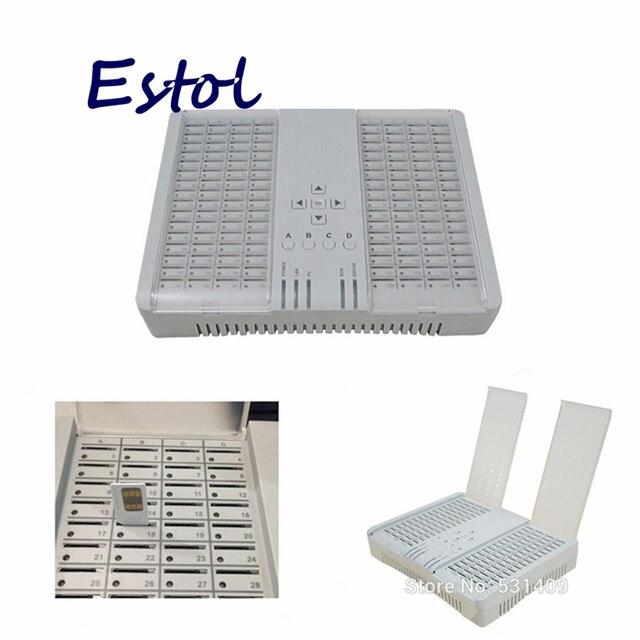 Fernbedienung kanal bank sim bank 128 port 128 sim karten arbeits mit DBL GOIP, vermeiden SIM karte block GSM sim server Klon