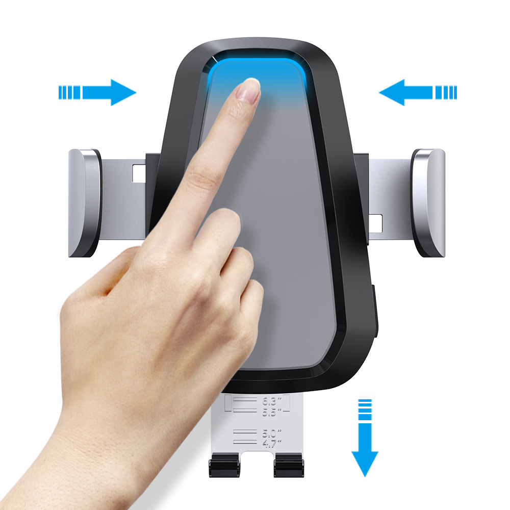 iphone 車のワイヤレス充電器 Nadler 最も安い