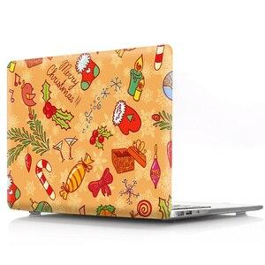 Image 3 - Чехол для ноутбука с рождественской цветной печатью для Macbook Air 11 13 Pro Retina 12 13 15 дюймов color s Touch Bar New Pro 13 15 New Air 13