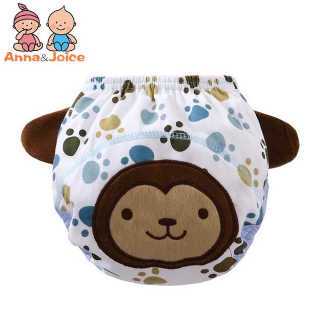 5pcs Cloth Diapers / Training Pants (Animal)