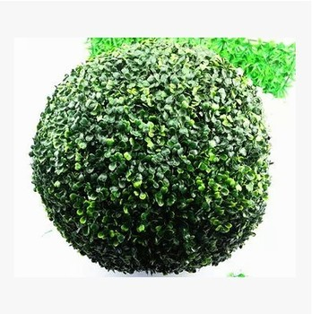 50cm diameter artificial plastic grass ball ANTI-UV for indoor & outdoor decoration