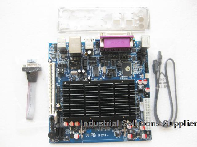 All Solid Atom d525 Mini-itx Industrial Motherboard 6com lvds ITX-M52X61D 100% tested perfect quality m945m2 945gm 479 motherboard 4com serial board cm1 2 g mini itx industrial motherboard 100