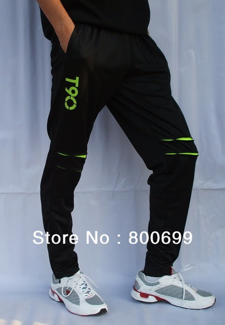 New Soccer Football Training Elastic Pants T90 Free Shipping