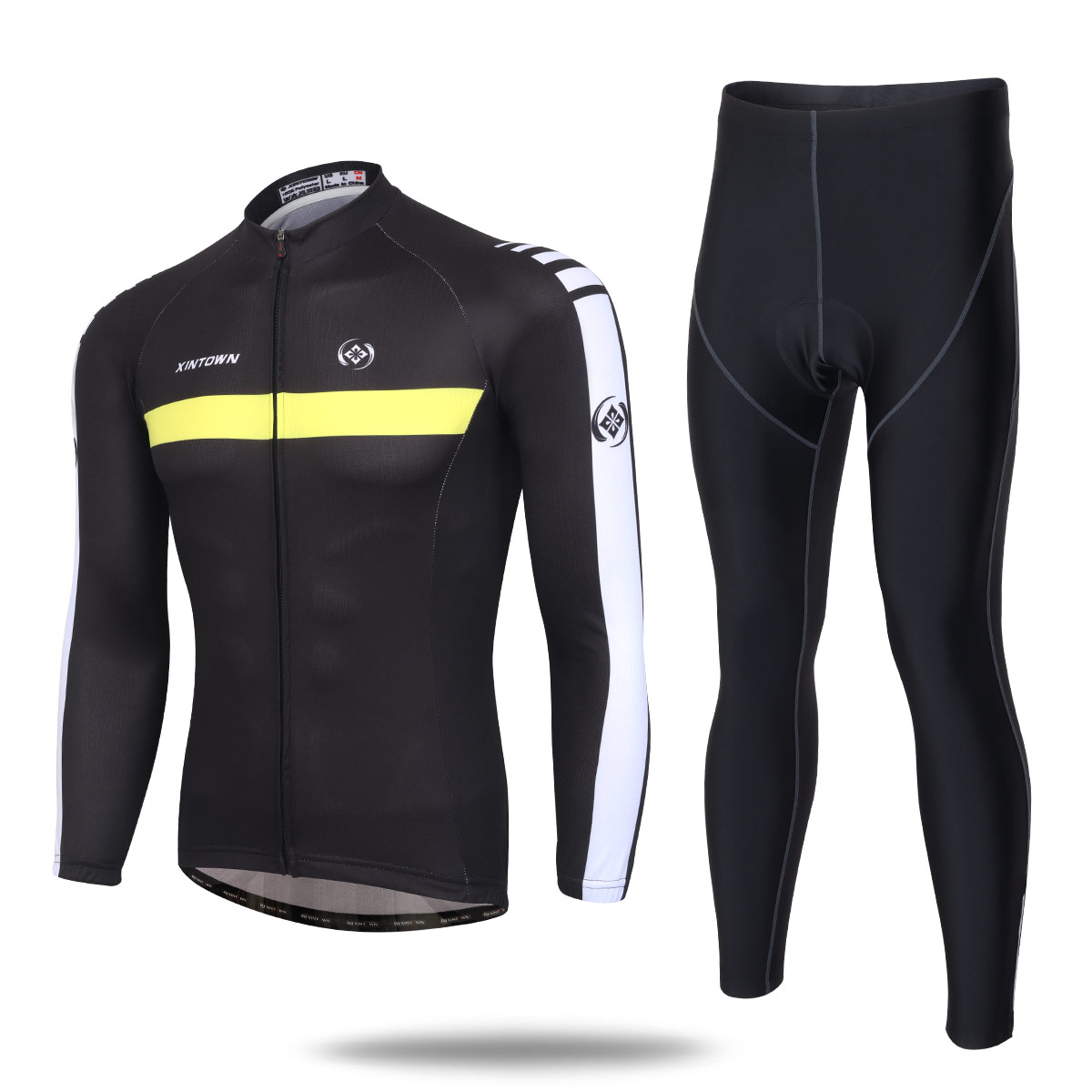 2016 Men/Women Cycling Jersey Long Sleeve bike Clothing S-5XL Bicycle Jerseys and Cycling Pants Set Ropa Ciclismo Banquet Four