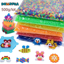 DOLLRYGA 500g 6000pcs 3d DIY Water Aqua Spray Magical Beads Manual Transparent Colors Bead in puzzles For Children Art And Craft