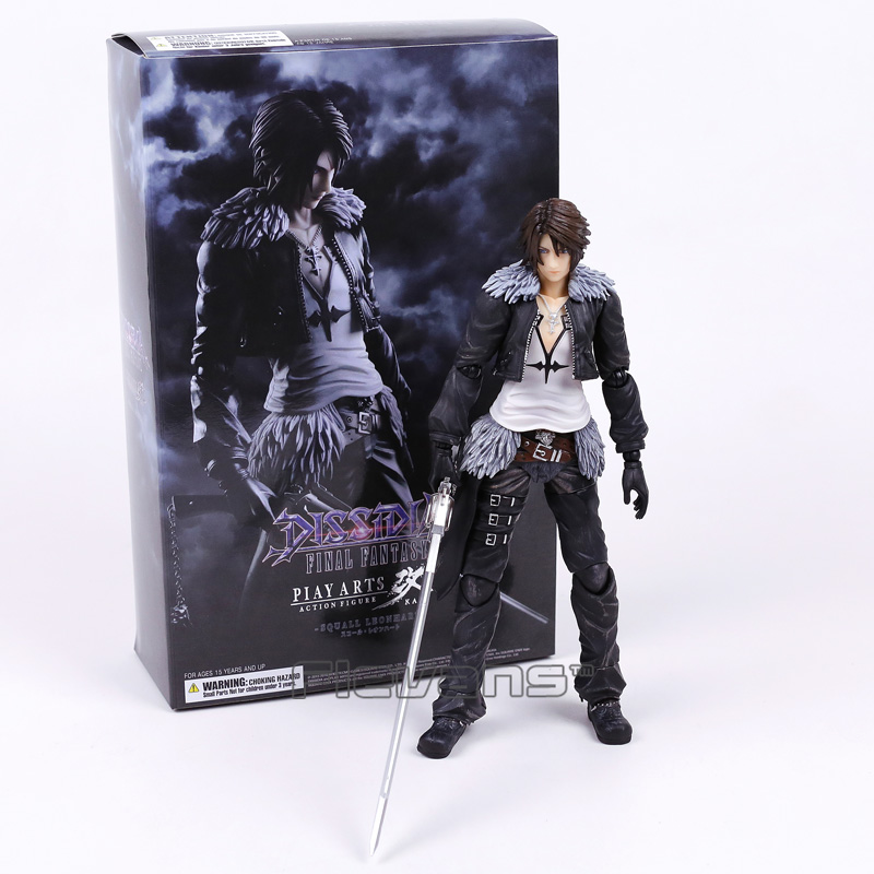 цены Paly Arts Kai FINAL FANTASY DISSIDIA Squall Leonhart PVC Action Figure Collectible Model Toy