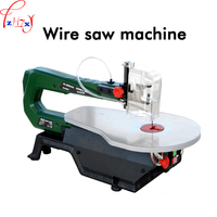 1PC Table multi function saw machine SS16120 copper wire motor wire saw woodworking tool can cut wood, plastic, soft metal 220V