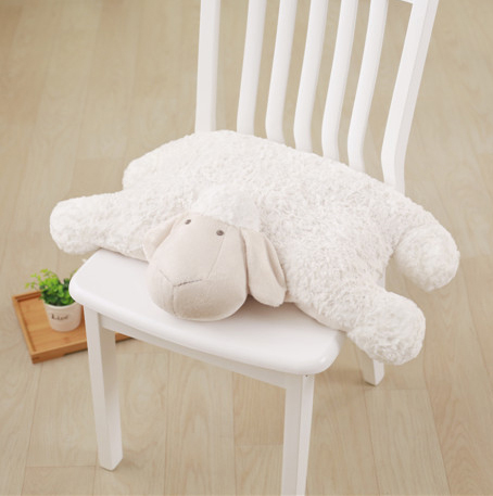 new 1pcs Sleeping Sheep Plush Toy High Quality Pillow for Children Birthday Gift Fold the lamb in the pillow Cute Animal Pillows