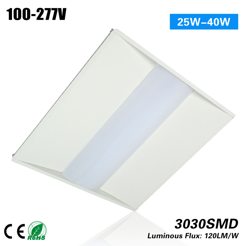 Hot selling 6PCS 5 years warranty 2*2 25w Led Troffer light 100-277VAC CE ROHS p10 real estate project hd clear led message board 2 years warranty