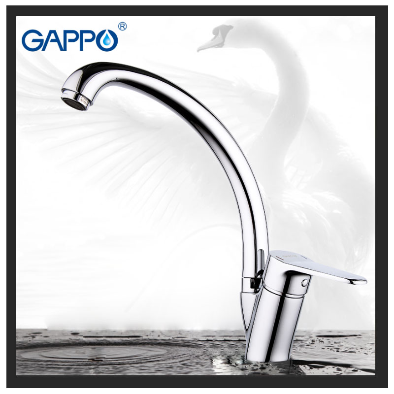 GAPPO Kitchen Faucet Brass Water Sink Crane Kitchen Sink Faucet Water Mixer Taps Torneira Para Cozinha