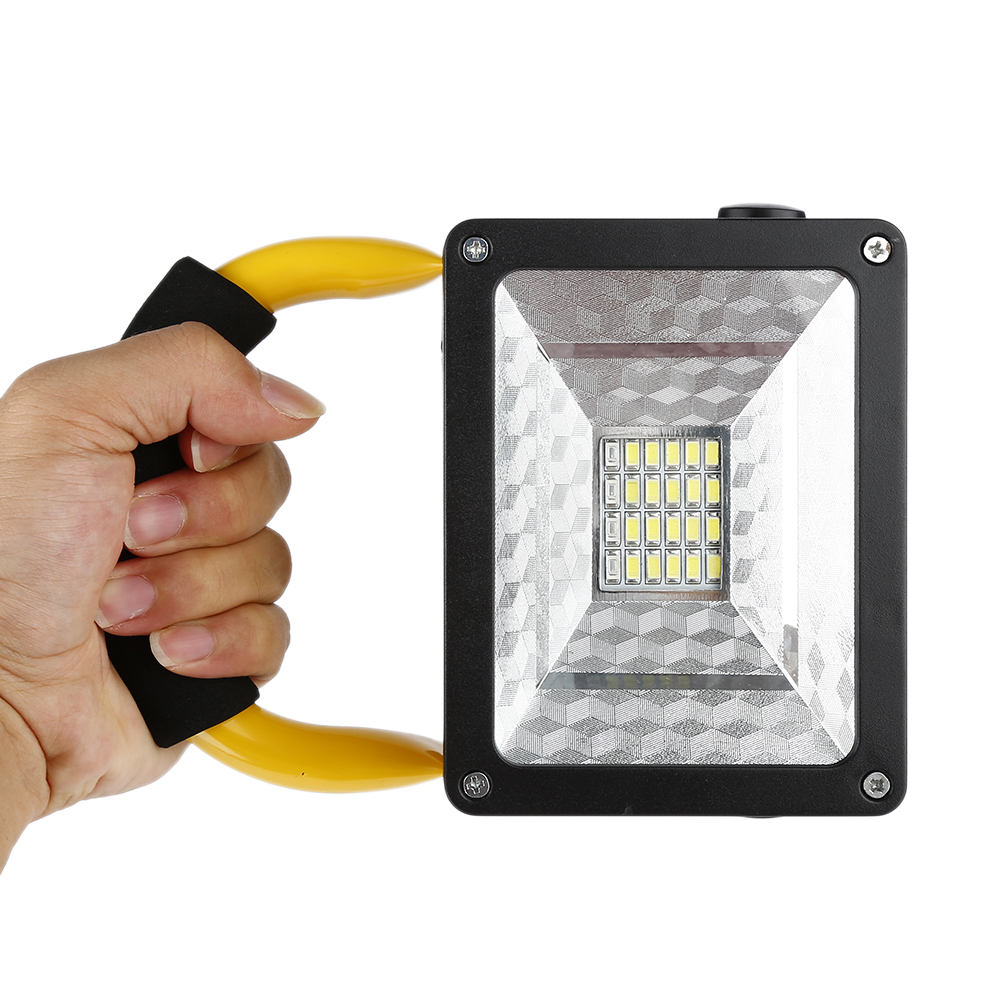 HTB1ZdqlxoR1BeNjy0Fmq6z0wVXaW - Waterproof 1000lm Rechargeable Flood Portable 220V Iron Outdoor Emergenency Light Garage Lamp Construction Site Spotlight