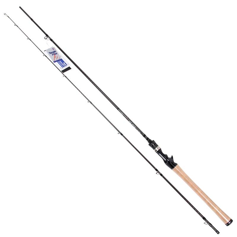 Trulinoya 2.13m M Power Baitcasting Fishing Rod 2Secs 5-21g Carbon Lure Rods FUJI Accessories Action:Fast Pesca Stick Tackle