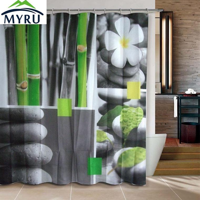 Compra Zen cortinas de ducha online al por mayor de China ...