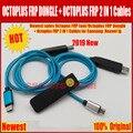 2019 Nieuwste verkoop ORIGINELE Octopus FRP tool/Octoplus FRP dongle + Octoplus FRP USB UART 2 IN 1 Kabels voor Samsung Huawei lg