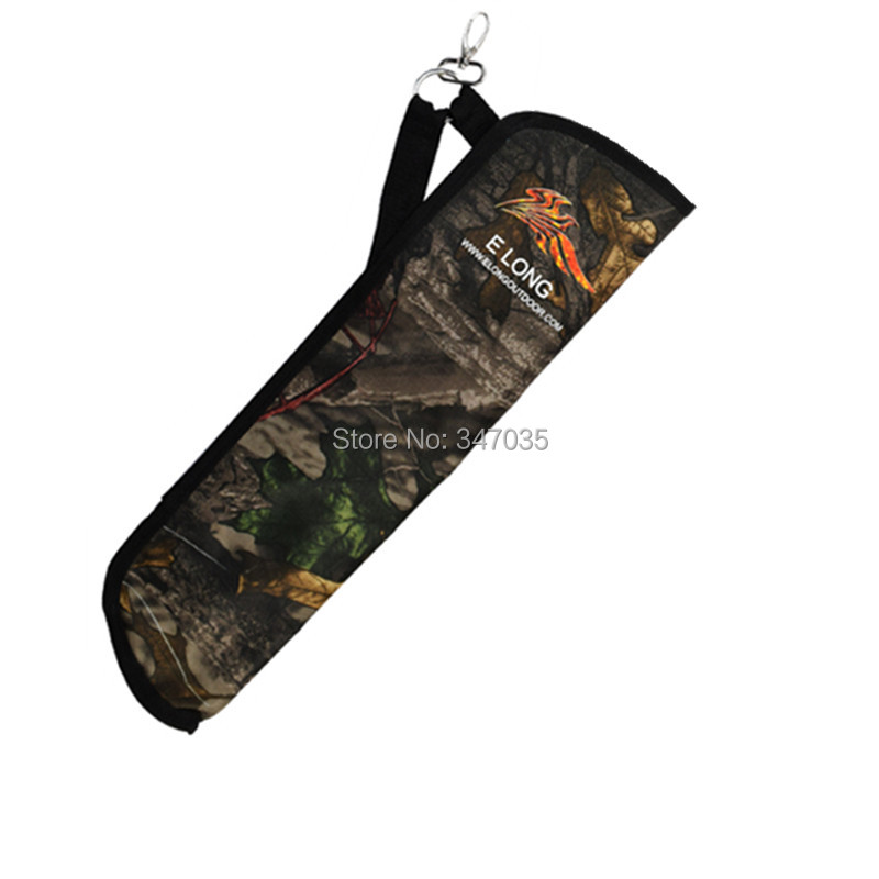 1 pcs Camo Arrow Quiver Archery bow arrow holder side bag