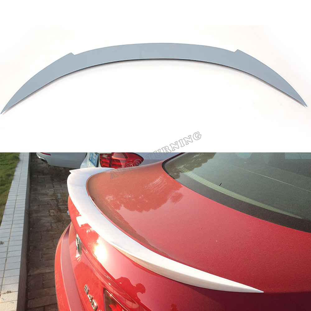 ФОТО F06 F12 V Car-Styling FRP Auto Rear Spoiler Wing For BMW 6series F06 F12 sedan 4-door 2013UP