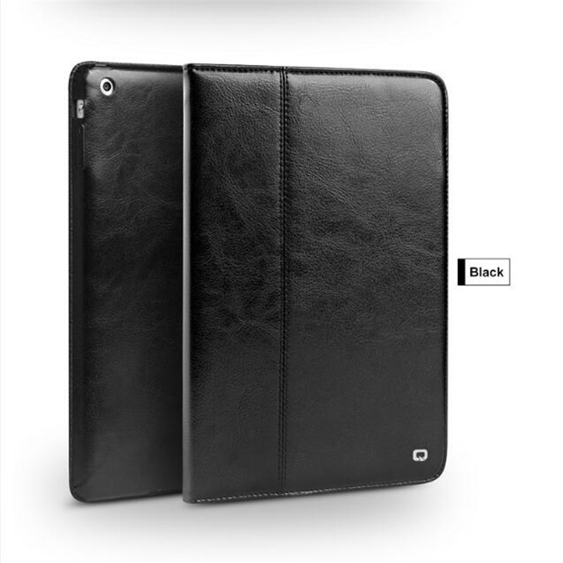 Case For ipad 2 3 4 bag, Magnetic Smart Cover luxury Genuine Leather Stand multi-functions Tablet Case For Apple For iPad 2 3 4 2017 newest cool bell brand nylon handbag messenger bag for ipad 1 2 3 4 for 8 9 10 tablet case free drop shipping 2027