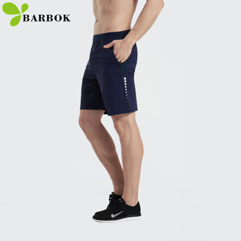 Summer Sport Running Gym Men Loose Elastic Waist Outdoor Men Quick Dry Ultra-light Zipper Pocket Embroidery Army Shorts Men Men's Clothing