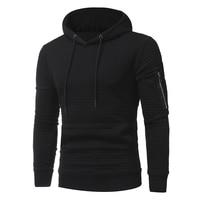 2018 New High End Casual Hoodie Men S Fashion Unique Korean Style Long Sleeved Sweatshirt M