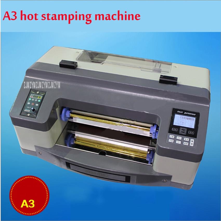 DC-300TJ Pro Digital folieskrivare Digital plattskrivare Hot Stamping Machine Digital skrivare Hot Stamping Bredd 300mm