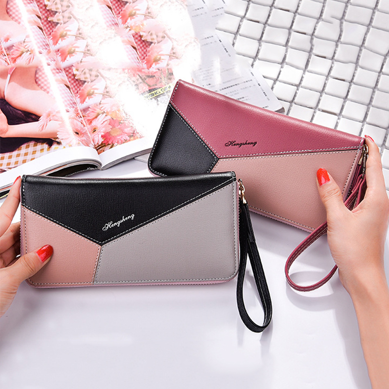 Zipper Women Wallet Leather Samsung Galaxy S8 S7 S6 Edge S5 J1 J2 J3 J5 A3 A5   Cover For Iphone X 8 7 6 Plus 5