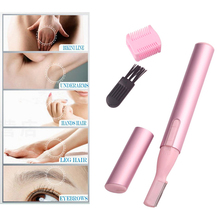 Electric Eyebrow shaver lady razor Facial shaper Body Hair trimmer blade Waterproof female shaving epilator hair removal