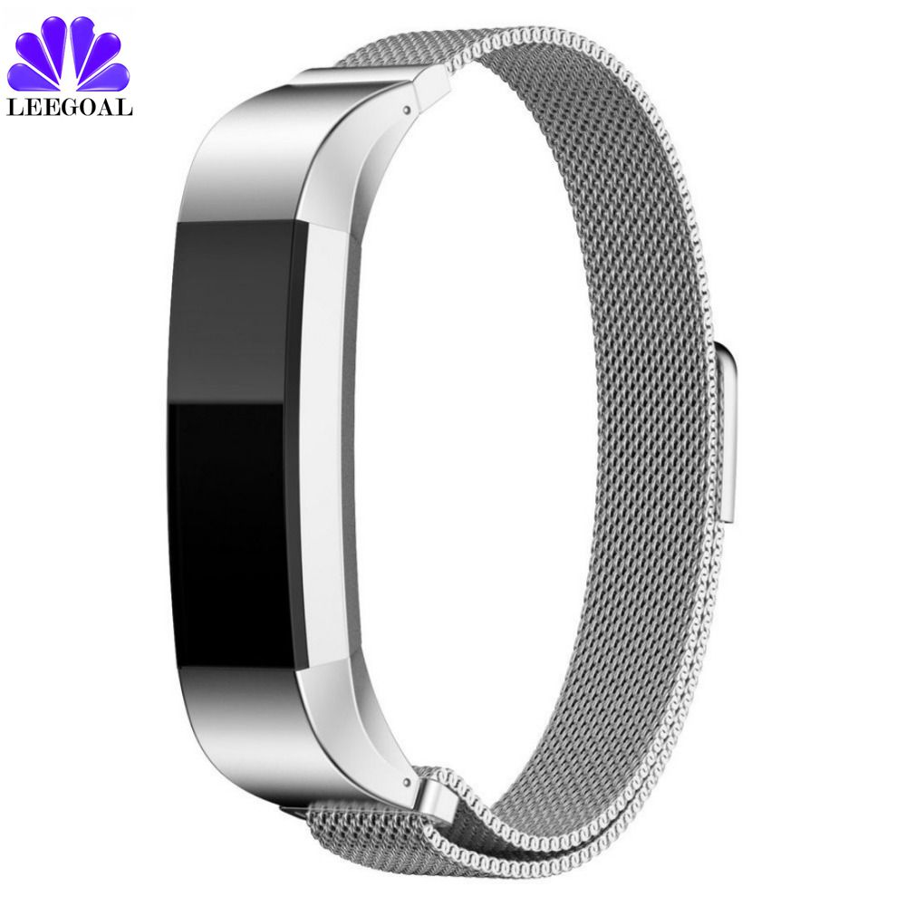 leegoal Leather Fitbit Alta band Replacement hr Watch Metal Band strap Fitbit Alta Wristband Bracelet Accessory banda Adjustable