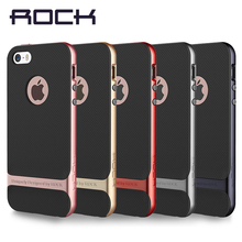 ROCK Luxury Royce Case For iPhone SE 5 5S Slim Armor cover shell Brand Back case