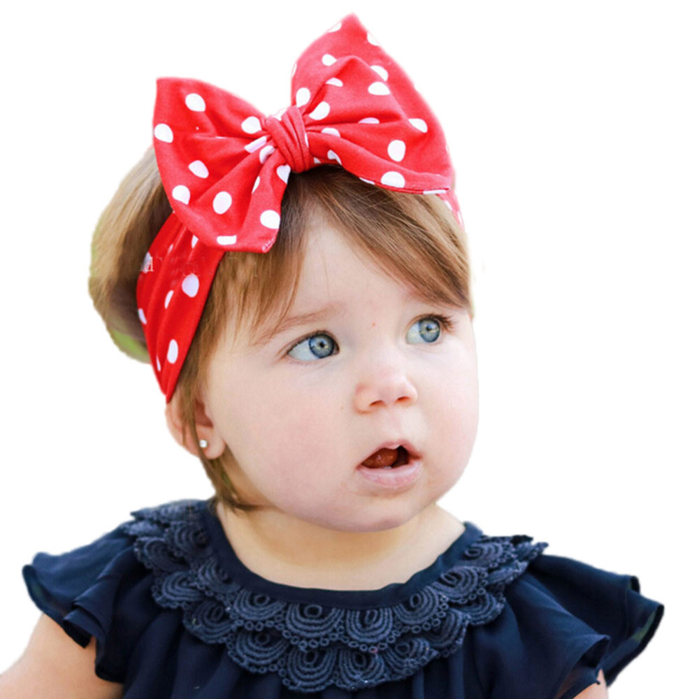 04b66252649 2018 New Baby Girl Solid Knot Headband Kids Cotton Turban Knitted Hair  Accessories Children Cross Headwear for Children-in Hair Accessories from  Mother ...