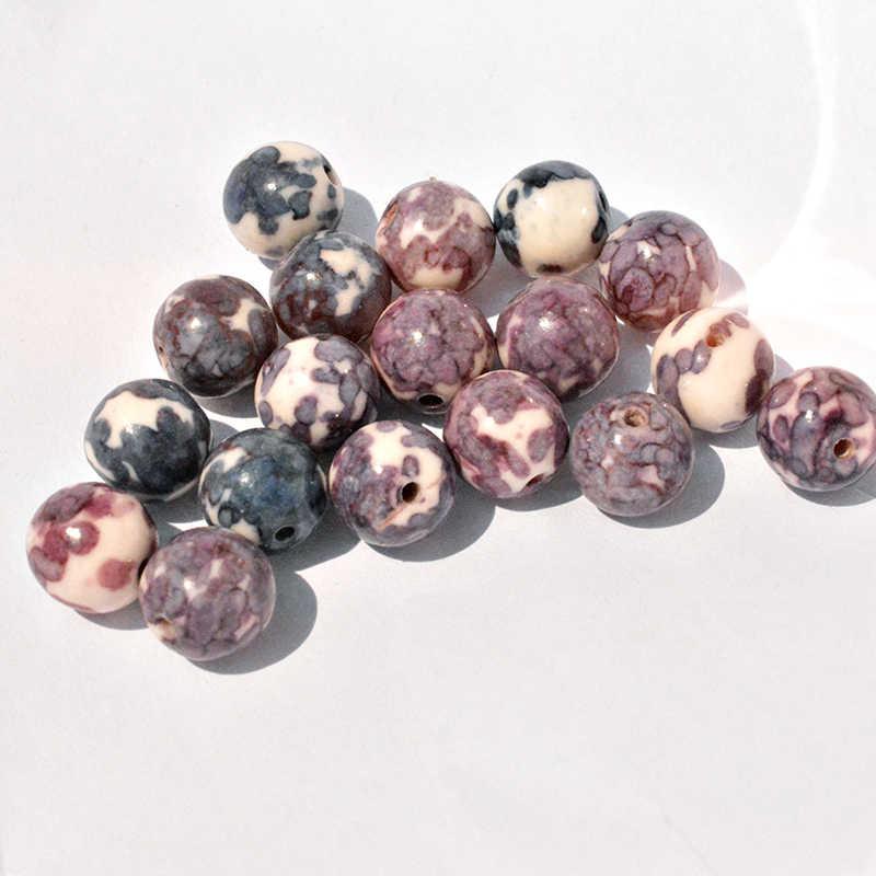 FLTMRH טבעי מט Morganite Agates טייגר העין אבן עגול חרוזים תכשיטי ביצוע Diy צמיד