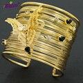 New Arrival Butterfly Bracelets Rhinestone Crystlas Blange Cuff Women Jewelry Accessories 16422