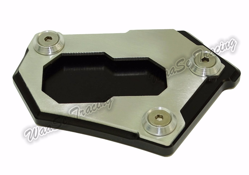 waase Kickstand Foot Side Stand Extension Pad Support Plate For BMW R1200GS Adventure LC K50 K51 2013 2014 2015 2016 morais r the hundred foot journey