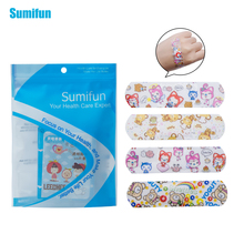 100pcs Waterproof Cartoon Bandages Hemostasis Band aid Sterile Stickers Adhesive Bandages First Aid For Children C1201 free shipping 100pcs 7 2cmx1 9cm standard waterproof breathable bandages band aid first aid emergency care prevent rubbing foot
