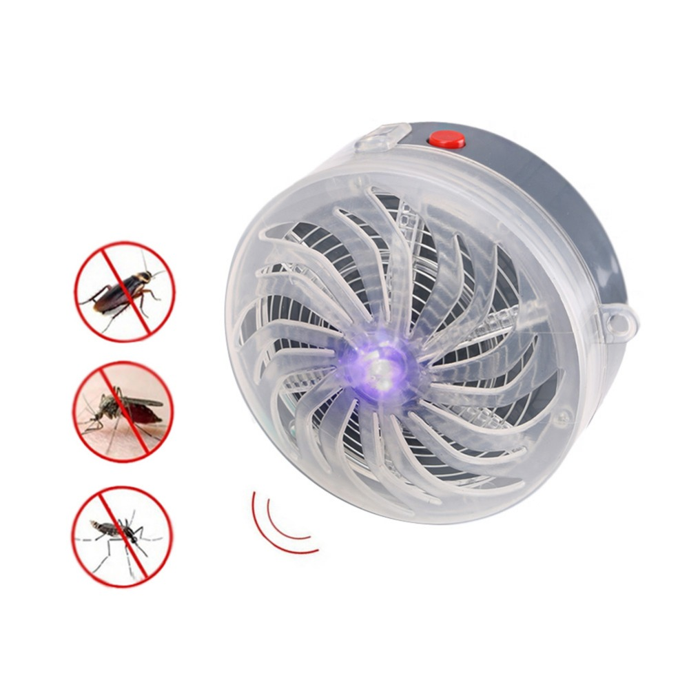 Solar kill Bug Mosquito Killer lamp 600mah battery Night Light Mosquito Trap For Home Outdoor Indoor Kill Fly Insect Bug Killer Repellents     - title=