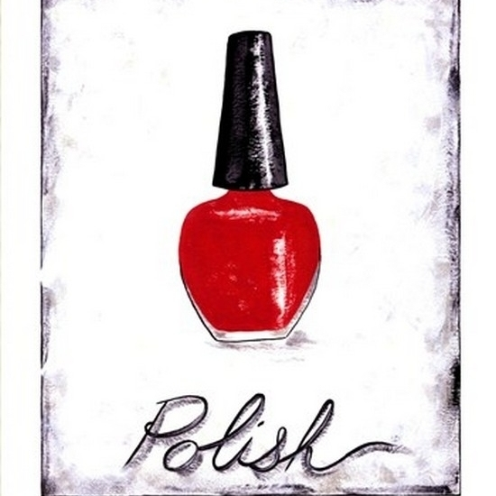 Polish Poster Print by Chariklia Zarris (10 x 13)