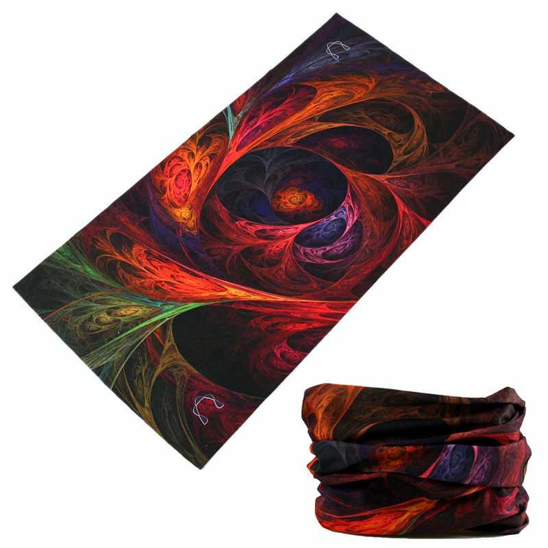 3D Galaxy Printing Women Men Magic Seamless Bandanas Multi Use Face Mask Bandana Head Scarf Cycling Headband Tube Hijab Buffe