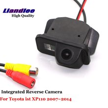 Liandlee Car Backup Parking Camera For Toyota ist XP110 2007~2014 Rear View Rearview Reverse Camera / Integrated SONY CCD HD mgoodoo new rear view backup camera parking assist camera 86790b1100 for toyota 86790 b11000