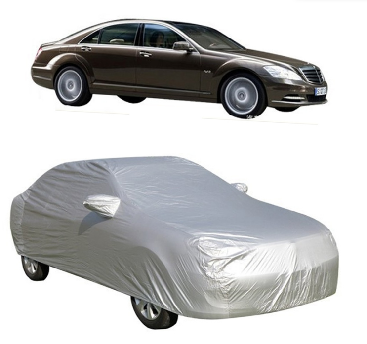 L Size Full Car Cover UV Protection Waterproof Breathable 470 x 180 x 150CM
