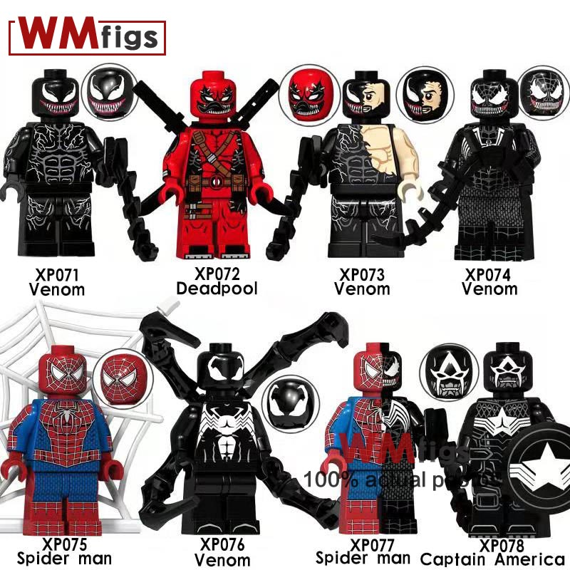 Model Building Toys & Hobbies 20pcs Star Wars Superhero Marvel Spider-man 2099 Building Blocks Action Figure Bricks Model Educational Diy Baby Toys Orders Are Welcome.