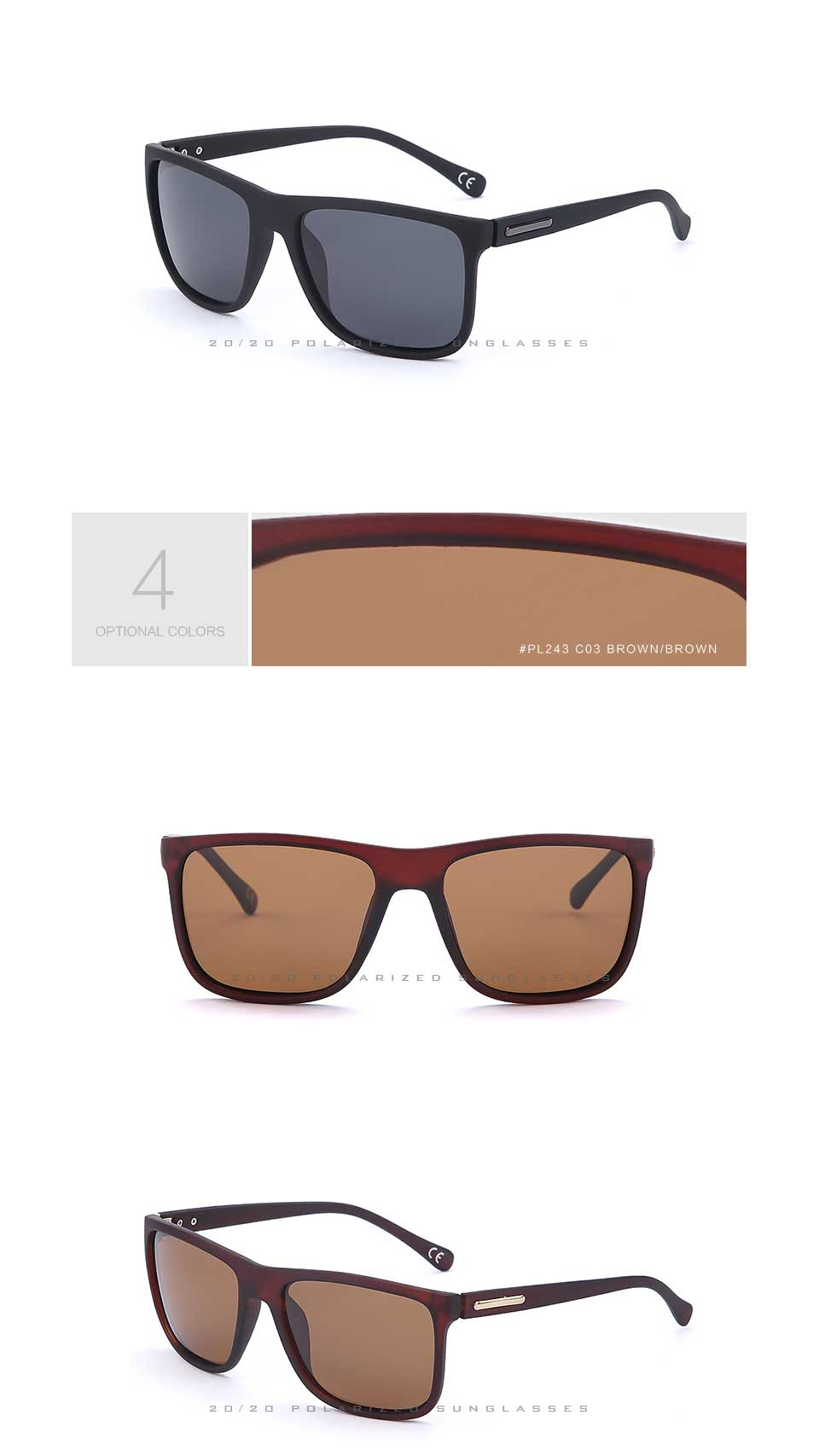 Men Oculos Brand sunglasses 5