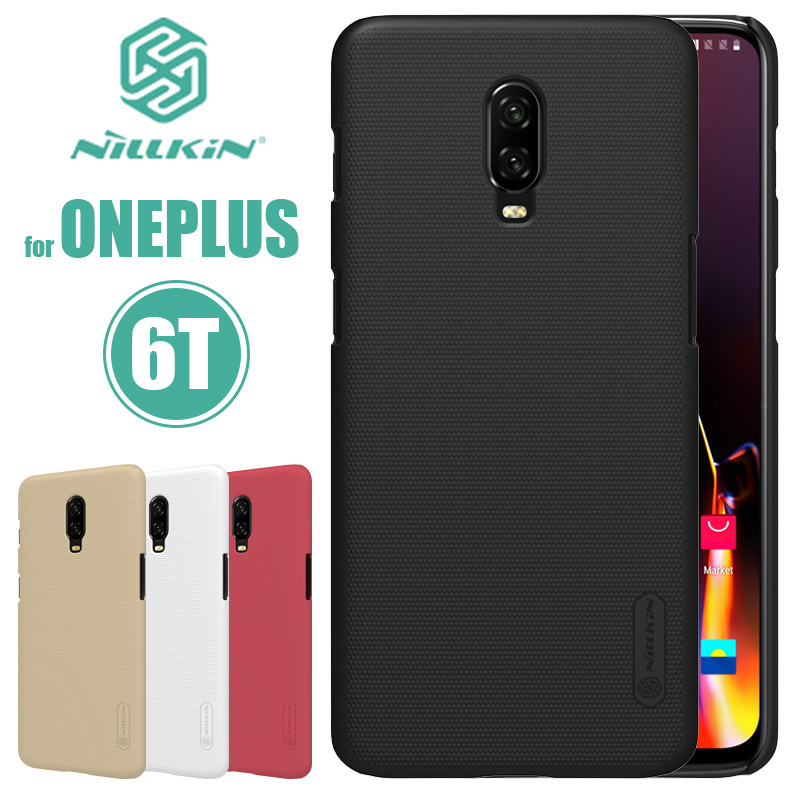 Oneplus 6T 6 5T 5 3 3T Case Nillkin Super Frosted Shield Hard PC Back Cover Case for Oneplus 6T 6 5T 5 3 3T Nilkin Phone Case