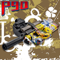 P90 Graffiti Edition Electric Toy Gun Outdoors Toys For Children Live CS Assault Snipe Weapon Soft Water Bullet Bursts Gun