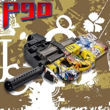 P90 Graffiti Édition Électrique Jouet Pistolet Extérieur Jouets Pour Enfants CS Live D'assaut Snipe Arme Doux Balle de L'eau Éclats Pistolet