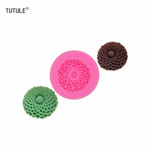 Gadgets-Small flower silicone rubber flexible food safety mold-soap, resin, clay, chocolate, butter pat, wax, fondant Mold недорого