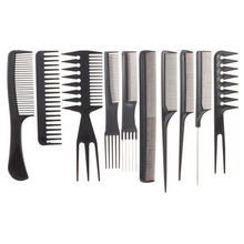 10 pcs Professional Comb Hair Barber Shop Antistatic Combs Beauty Combing Hair Care Styling Tool