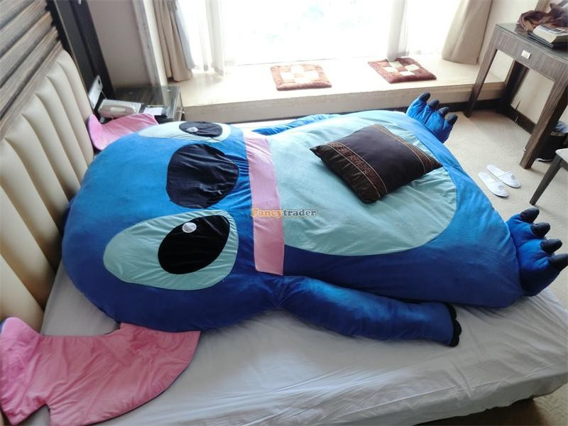 Flounder Stuffed Animal, Fancytrader 230cm X 180cm Terrific Fashionable Very Cute Giant Stitch Plush Double Bed Carpet Sofa Tatami For 2 Persons Ebuyerseller Com