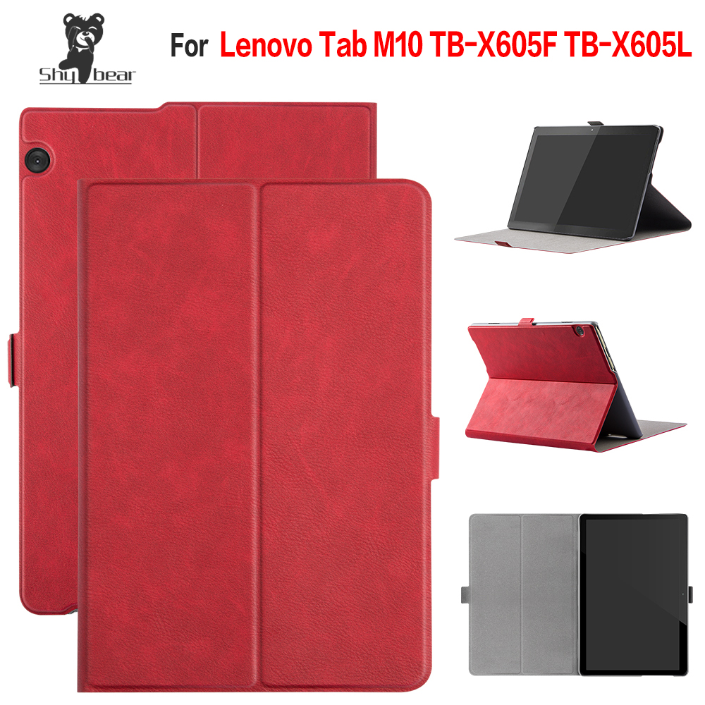 New Arrival Case for Lenovo Tab M10 TB-X605F TB-X605L 10.1 Folio Stand Cover Case+giftsNew Arrival Case for Lenovo Tab M10 TB-X605F TB-X605L 10.1 Folio Stand Cover Case+gifts