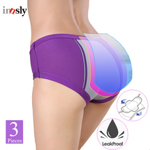 Menstrual Period Underwear Women Modal Cotton Panties Ladies Seamless Lengthen Physiological Leakproof Female