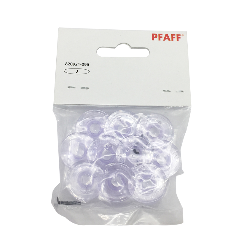 10PCS Plastic Bobbins For Pfaff Expression 2.0, 3.0 & Creative Vision 4.0,5.0 820921-096